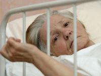 Пациентка лежит в постели