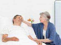 мужчина после инсульта