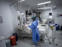 Больной коронавирусом в палате