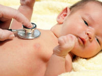 Аускультация сердца у новорожденного