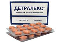 Детралекс - таблетки от варикозного расширения вен
