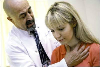 Увеличение щитовидной железы