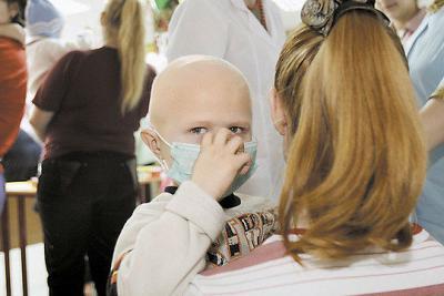 ребенок больной лейкопенией