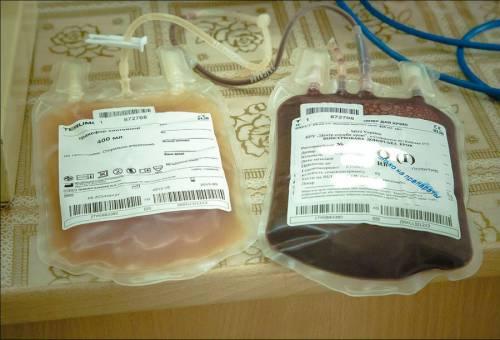 Донорская кровь и плазма