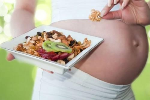 Здоровое питание у беременной женщины