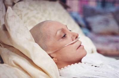 Пациентка после химиотерапии