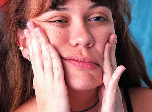 Онемение кожи лица