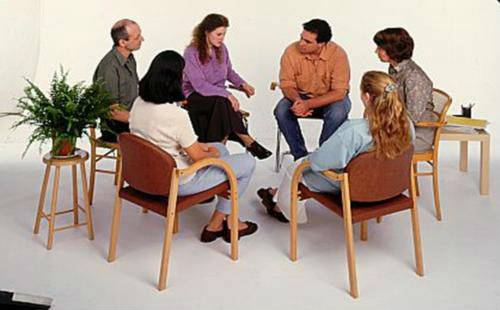 Сеанс групповой психотерапии