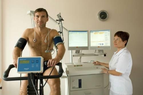 Велоэргометрия у спортсмена
