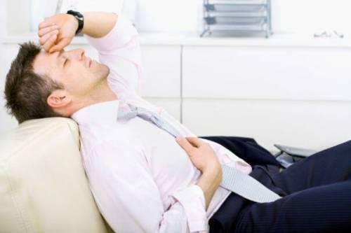 Усталость у мужчины
