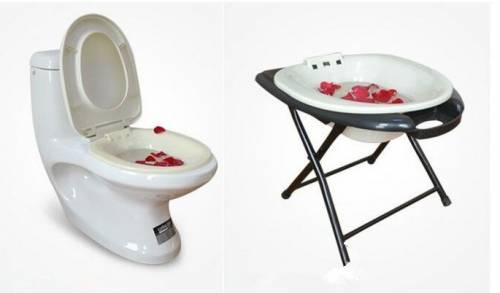 Устройство сидячих ванночек