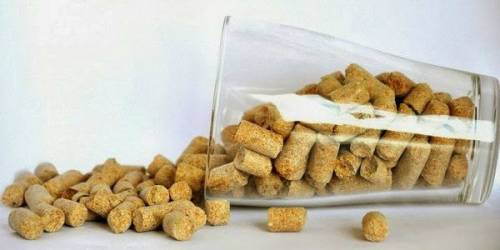 Гранулированные пшеничные отруби