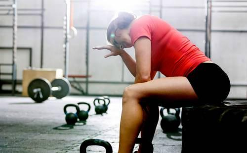Усталость после физических упражнений