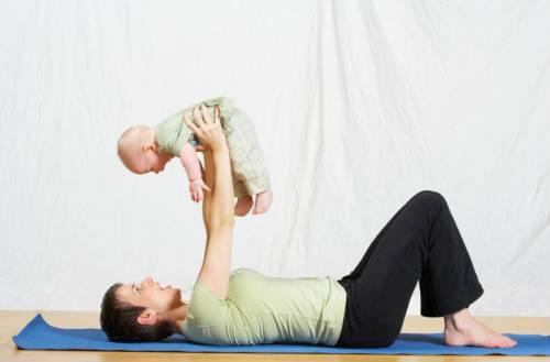 Гимнастика с грудным ребенком
