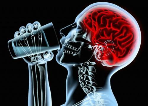 Алкоголь и головной мозг