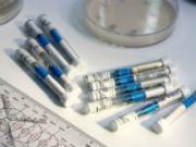 Лабораторные пробирки для определения общего белка