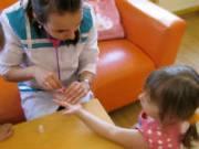 Анализ крови из пальца у ребенка