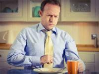 Боль в груди после еды